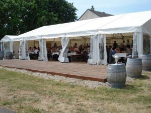 """Visite """"Buffet Campagnard"""" au Château de l'Aulée"""