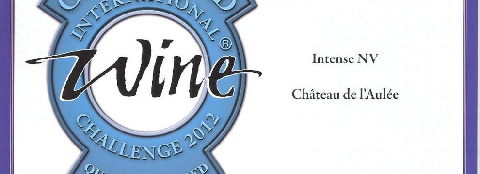 International Wine Challenge 2012 - Château de l