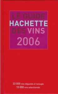 Le guide Hachette des vins 2006