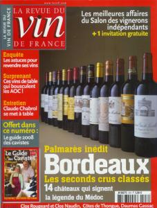RVF 2008 Les meilleurs affaires du salon des vignerons indépendants