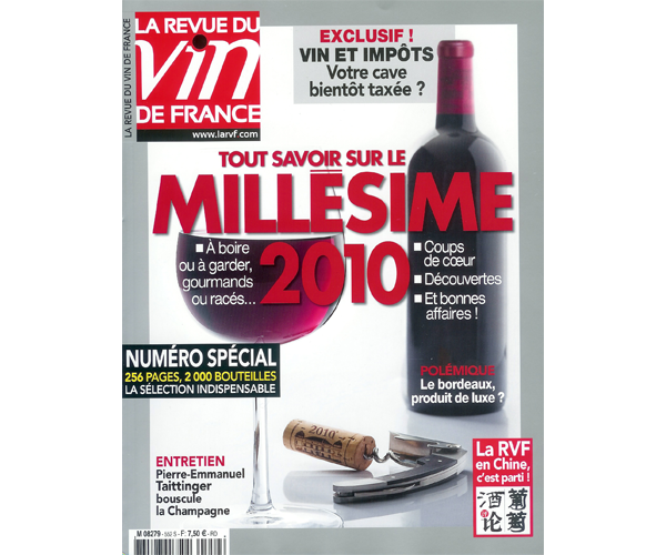 la revue du vin de france tout savoir sur le mill sime 2010. Black Bedroom Furniture Sets. Home Design Ideas